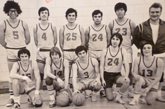 The Vaughan Road Collegiate Senior Basketball Team 1971-72